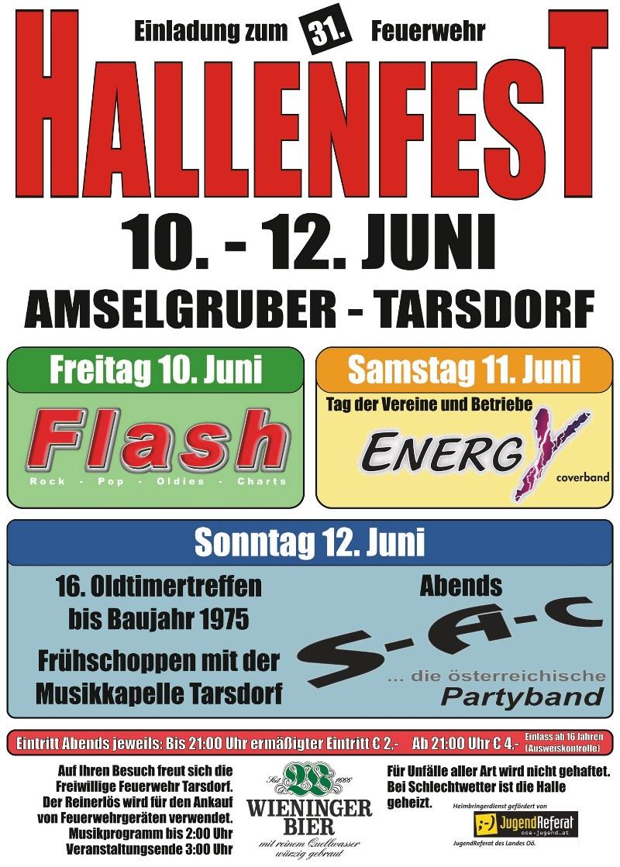 Einladung Hallenfest 2011