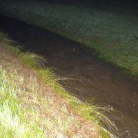Überflutung nach heftigen Regenfällen