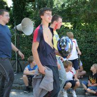 Einsatzübung beim Dorffest