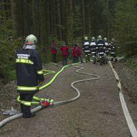 Alarmstufe III Übung Waldbrand