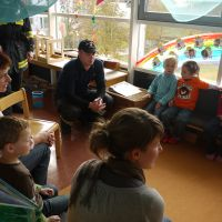 Kindergarten-Räumungsübung 2009