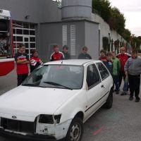 Technische Übung mit Feuerwehr-Jugend