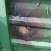 Brand Grünschnitt-Container