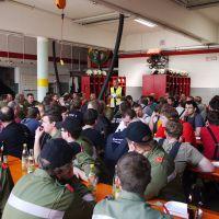 Übungsbesprechung im Feuerwehrhaus Tarsdorf