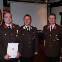 Bezirksverdienstmedaille Stufe 2 (Silber) für Baumann Günter