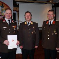 Bezirksverdienstmedaille Stufe 1 (Gold) für Esterbauer Erich