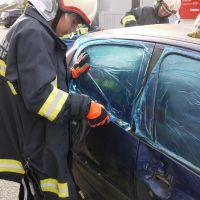 Technische Übung mit Feuerwehrjugend