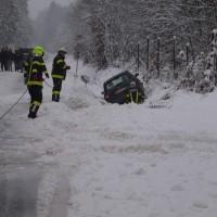 Fahrzeugbergung aus Straßengraben