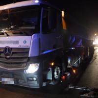 Verkehrsunfall mit Tankwagen