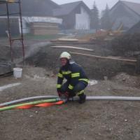 Lösch- und Atemschutzübung: Brand Wohnhaus