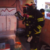 Atemschutzübung: Wohnhausbrand