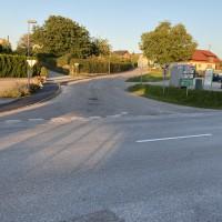 Verkehrsunfall im Ortsgebiet von Tarsdorf