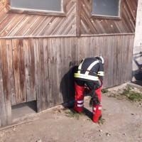 Atemschutzübung: Werkstättenbrand