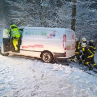 Technische Hilfeleistungen auf Grund des Schneefalls