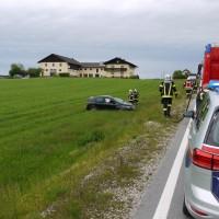 Verkehrsunfall Auto überschlagen