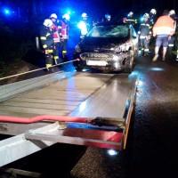 Verkehrsunfall Sengstädter Straße
