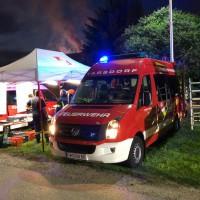 Brandeinsatz Hackenbuch - Unterstützung Einsatzführungsteam