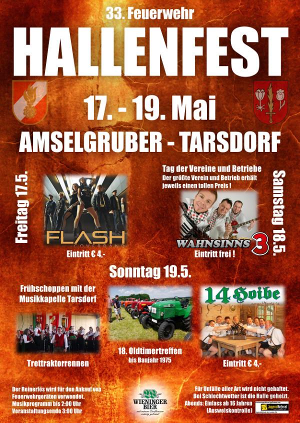 Postwurf Hallenfest 2013